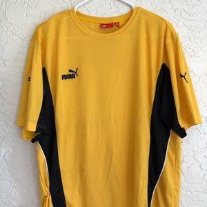 Puma Athletic sports wear T-shirt large
